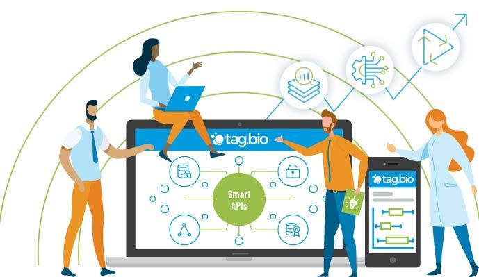 Tag.bio data product - smart api